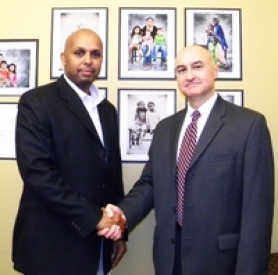 by: U.S. GOVERNMENT Musse Olol (left) and Oregon FBI Special Agent in Charge Greg Fowler