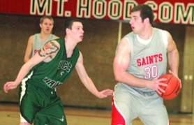 by: file photo Sandy graduate Allan Yates has worked himself into the regular rotation for his sophomore season with the Saints.