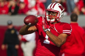 by: UNIVERSITY OF WISCONSIN Nick Toon, Wisconsin's standout 6-3 wide receivers, says he and the Badgers hoped to find plays that work against Oregon's young cornerbacks in Monday's Rose Bowl.