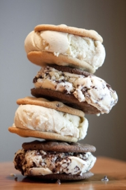 by: CHRISTOPHER ONSTOTT <i>Entree 2011 Dining Guide</i>, June 2 • Ice cream sandwiches are a rite of summer, and Ruby Jewell on North Mississippi treats them artisanally, with fresh cookies and ice cream made with all-natural ingredients.