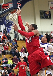 by: Miles Vance INSIDE PRESENCE — Westview senior Landen Lucas goes to the basket against Jefferson on Monday night.
