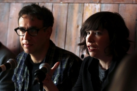 by: JAIME VALDEZ Portlandia's Carrie Brownstein says Portland takes itself way too seriously.