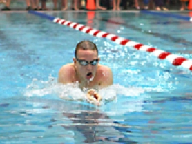 by: John Brewington Ryan Rafferty swam well at the HRV Invitational.