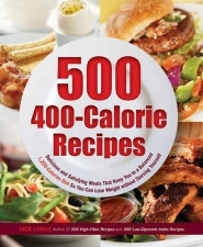 "by: SUBMITTED PHOTO Dick Logue's book, ""500 400-Calorie Recipes"" can provide inspiration for meals while you lose weight."