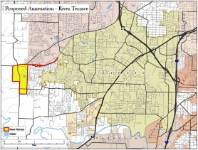"by: city of Tigard The Tigard City Council is looking at its neutral annexation policy in the hopes of annexing unincorporated ""islands"" within the city, shown on the map in white."