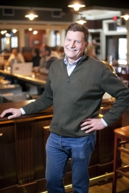 by: Christopher Onstott Golden Valley Brewery owner Peter Kircher stands at the bar in Beaverton's new hot spot.