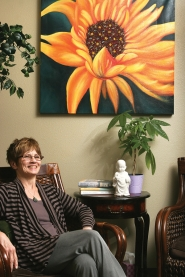 by: Jim Clark Loretta Inman conducts The Gresham Area Fibromyalgia, Chronic Pain/Fatigue Support Group.