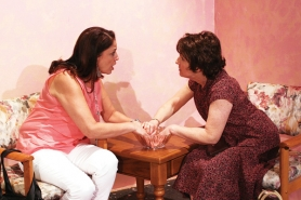 by: Roger Nelson Mary Margaret Castaneda and Cheryl Nelson play estranged sisters in