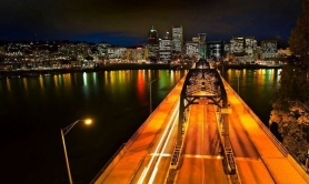 by: L.E. Baskow The Hawthorne Bridge, constructed in 1910, is the granddaddy of Portland's Willamette River bridges. It could be nominated to the National Register of Historic Places along with the Burnside, Broadway and Morrison bridges.