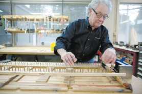 by: Christopher Onstott Rick Wheeler has a long history of tuning, repairing and restoring pianos, and he now builds key sets mostly for Steinway owners.