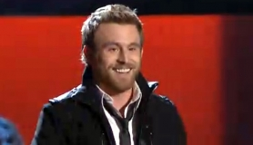by:  Tigard-native Justine Hopkins smiles as he joins Team Cee Lo on NBC's The Voice, Monday