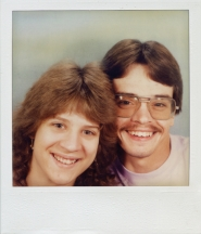 by: contributed photo Dori White at the age of 18 with her boyfriend.