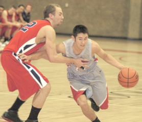 by: file photo Mt. Hood CC guard Drew Johnson had 14 assists to just one turnover during Tuesday's fifth-place win over Yakima Valley.