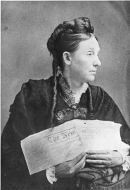 by: Photo by W. H. Caterlin Abigail Scott Duniway, who led Oregon's women's suffrage movement for more than four decades, holds a copy of The New Northwest in 1871.