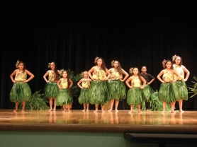 by: Contributed photo Students from the Gresham-based Makani Foundation learn about Hawaiian dance, language, music and culture.