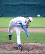 by: MATTHEW SHERMAN  Levi Rudolph is an important cog in Lakeridge's talented pitching staff this year. The Pacers hope to be one of the top teams in the TRL this season.