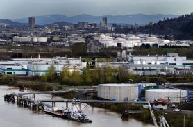 by: Nick Fochtman Portland has so far spent $45 million in sewer funds studying how to clean up the Portland Harbor Superfund sites, including the Siltronic, Arkema, Rhone Poulenc and Willbridge Terminal locations shown here. Critics say sewer customers should not bear the full cost.