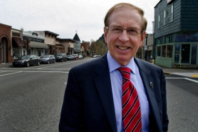 by: Nick Fochtman Troutdale Mayor Jim Kight advocates growth not property tax limitation changes to increase revenues, even though his city has the lowest percent of taxable land in the region.
