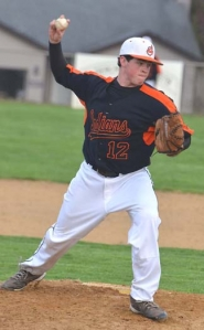 by: John Brewington SOPH START—Scappoose's Will Sprute picked up a win over Astoria on Monday night in his first official start on the mound. Scappoose started league with two wins.