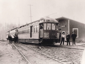 by: contributed photos, Soon after the turn of the 20th century, Boring was a popular place, with electric trolleys coming from Portland every day. The old Boring Station is still a part of history, with the dedication of the Boring Station Trailhead Park.