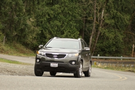 by: NORTHWEST AUTOMOTIVE PRESS ASSOCATION, The 2012 Kia Sorento is a serious challenger in he midsize Crossover category.