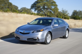 by: ACURA MOTOR CO., Styling refinements are expected to increase the appeal of the 2012 Acura TL.