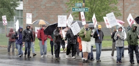 by: Jim Clark, Reynolds teachers picket outside Reynolds High School