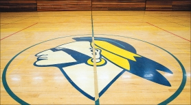 by: Chase Allgood, The Banks Braves logo on the gym floor will be prohibited after July 1, 2017