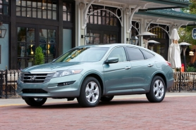 by: HONDA MOTOR CO., This year the Crosstour drops the Accord name and becomes its own model.
