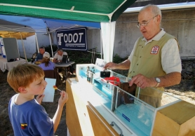 by: Vern Uyetake, A model of how locks work will be on display during River Heritage Day on June 23 at Willamette Park.