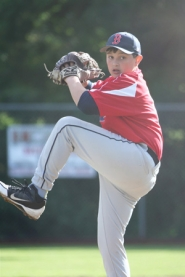 by: Debora Mehlhaff, Greg Mehlhaff struck out 18 and gave up one hit in the Red Sox 2-1 championship win Wednesday night.