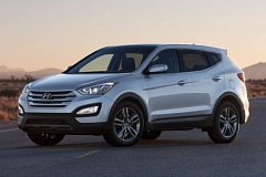by: HYUNDAI MOTOR COMPANY - The redesigned 2013 Hyundai Santa Fe includes a five-passenger Sport version with an availlable turbocharged 2.0-liter engine.