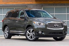 by: NISSAN MOTOR CORP. USA - The all-new 2013 Infiniti JX35 AWD will carry up to seven passengers in style and luxury.