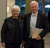 by: SUBMITTED PHOTO: STUART WORLEY - Rosemary Cleland, trumpet, and Dale Cleland, conductor, with the Millennium Concert Band at the National Convention of Concert Bands in San Ramon, Calif.
