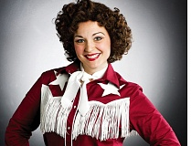 by: PHOTO: CRAIG MITCHELLDYER - Sara Catherine Wheatley stars in 'Always ... Patsy Cline,' now playing at the Broadway Rose Theatre Company. See May 1 listing for show details.