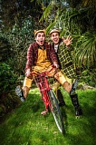 by: COURTESY OF OWEN CAREY - Its Josh Stenseth as Frog and James Sharinghousen as Toad on a year-long journey in the next Oregon Childrens Theatre production, May 11-June 2.