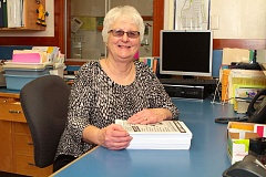 by: DAVID F. ASHTON - After twenty years, Llewellyn Elementary School Secretary Jean Cheney will soon leave the job she says shes loved.