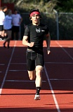 by: JONATHAN HOUSE - Oregon City senior Justin Cornejo set school senior class records in the 100- and 200-meter dashes in last weeks meet at Canby.
