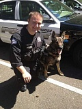 by: SUBMITTED - K-9 Officer Dan Bechtol and Charger work for the Lake Oswego Police Department.