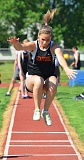 by: JOHN BREWINGTON - Kayleigh Horecky won the long jump easily against Astoria.