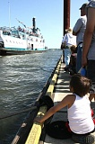 by: SPOTLIGHT FILE PHOTO - Visitors and St. Helens residents watched the Portland Sternwheeler come in to the St. Helens City Docks at the Maritime Heritage Festival last summer. More than 8,000 people attended the festival, said the city's tourism director Chris Finks.