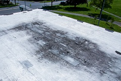by: PHOTO COURTESY PPS - Roof damage at Wilson High school could be repaired through PPS bond work. Some are concerned that the district is not installing solar panels on schools' roofs.