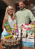 by: PAMPLIN MEDIA GROUP: VERN UYETAKE - Paige and David Bell are making a success of their homegrown business, School Supplies Delivered.