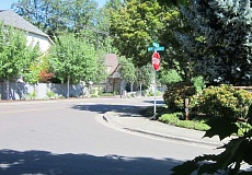 by: BARBARA SHERMAN - BIG CHANGES ARE AHEAD - Dickson is currently a quiet street mainly used by residents of the Highlands, but after the Brown subdivision is built with 23 single-family homes and 22 apartments, traffic on the street will increase to more than 300 vehicle trips per day, according to King City's planning consultant, Keith Liden.