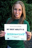 Photo Credit: CONTRIBUTED PHOTO - Joslynn Bigelow, 18, hoped to raise awareness by challenging young people to name their best ability.