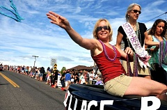 Photo Credit: CONNECTION PHOTO: VERN UYETAKE - The Multnomah Days Parade takes place Aug. 16.