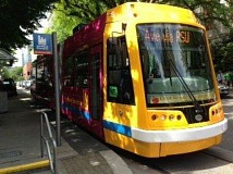 Photo Credit: COURTESY UNIED STREETCAR - One of the American-made Portland Sttreetcars manufacturered by United Streetcar in Clackamas County.