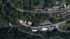 Photo Credit: COURTESY KOIN 6 NEWS - A Google Map view of the location of the sewage leak.