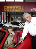 Photo Credit: COURTESY TONKIN FAMILY - Ron Tonkin with his grandson Adam at the former Gran Turismo showroom.