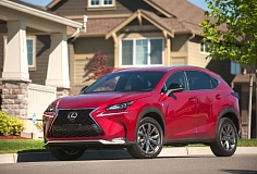 Photo Credit: JOHN M. VINCENT - With an aggressive look and stance, the 2015 Lexus NX 200t F-Sport takes on an appearance more like the IS sports sedan than any Lexus SUV.
